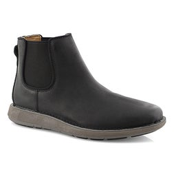 Mns UnLarvik Up black chelsea boot