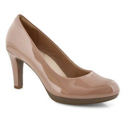 Lds Adriel Viola praline dress heel