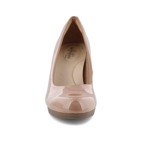 Lds Adriel Viola praline dress heel