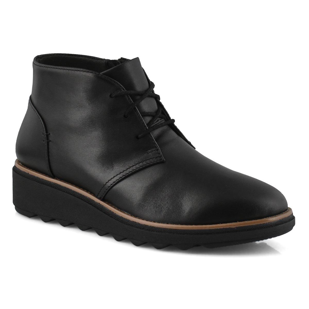 Women's Sharon Hop Casual Boot - Black