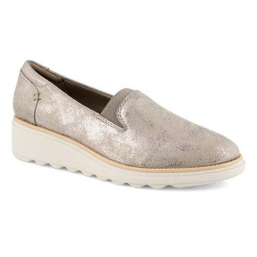Lds Sharon Dolly pewter casual loafer