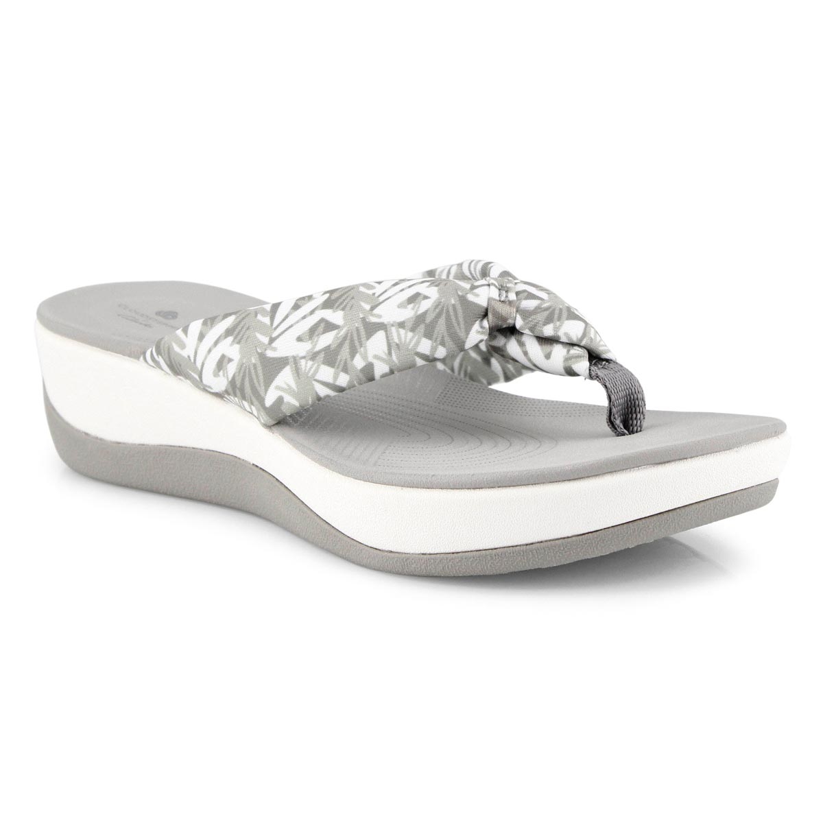 Women's Arla Glison Thong Wedge Sandal - Flor Gry
