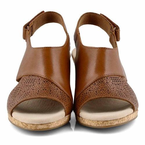 Lds Lafley Joy tan wedge sandal