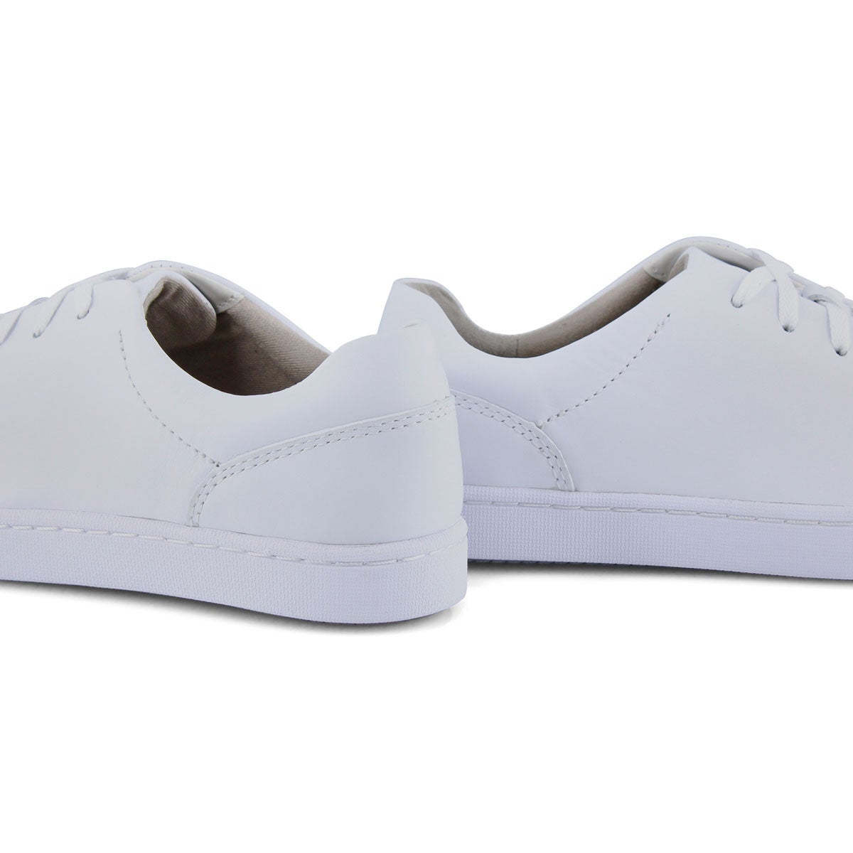 Lds Pawley Springs white lace up shoe