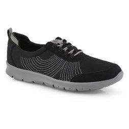 Lds Step Allena Bay blk/blk casual shoe