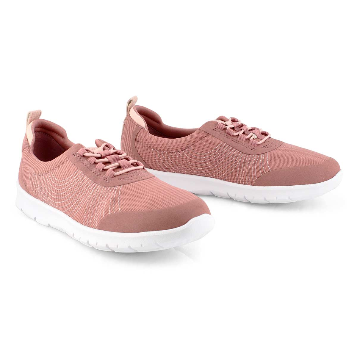 Lds Step Allena Bay mauve casual shoe