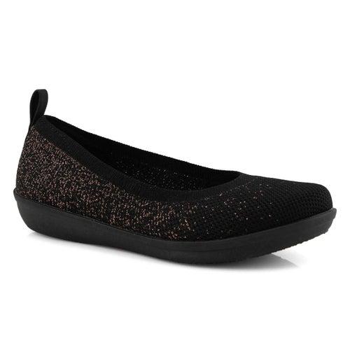 Lds Ayla Paige black/grey slip on