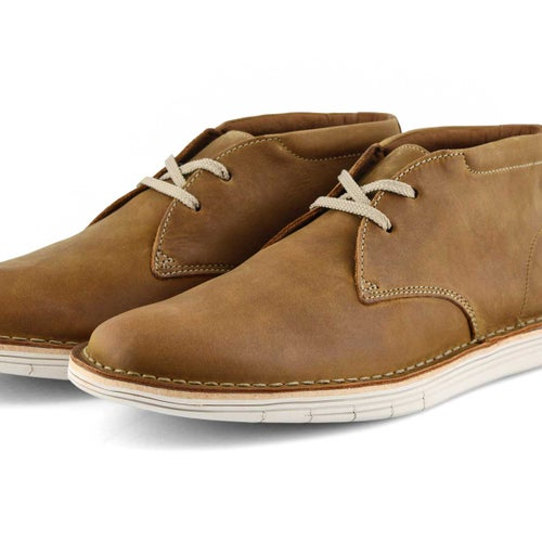 Mns Forge Stride tan casual chukka