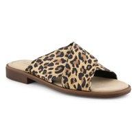Claquette DECLAN IVY léopard femmes