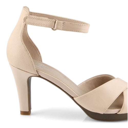 Lds Adriel Cove blush dress heels