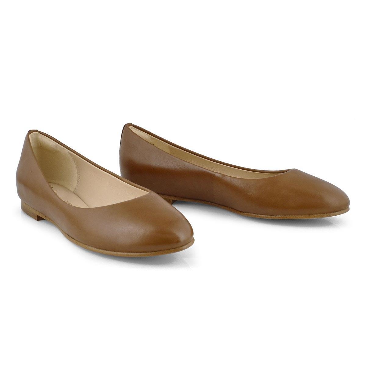 Women's Grace Piper Casual Flat - Tan