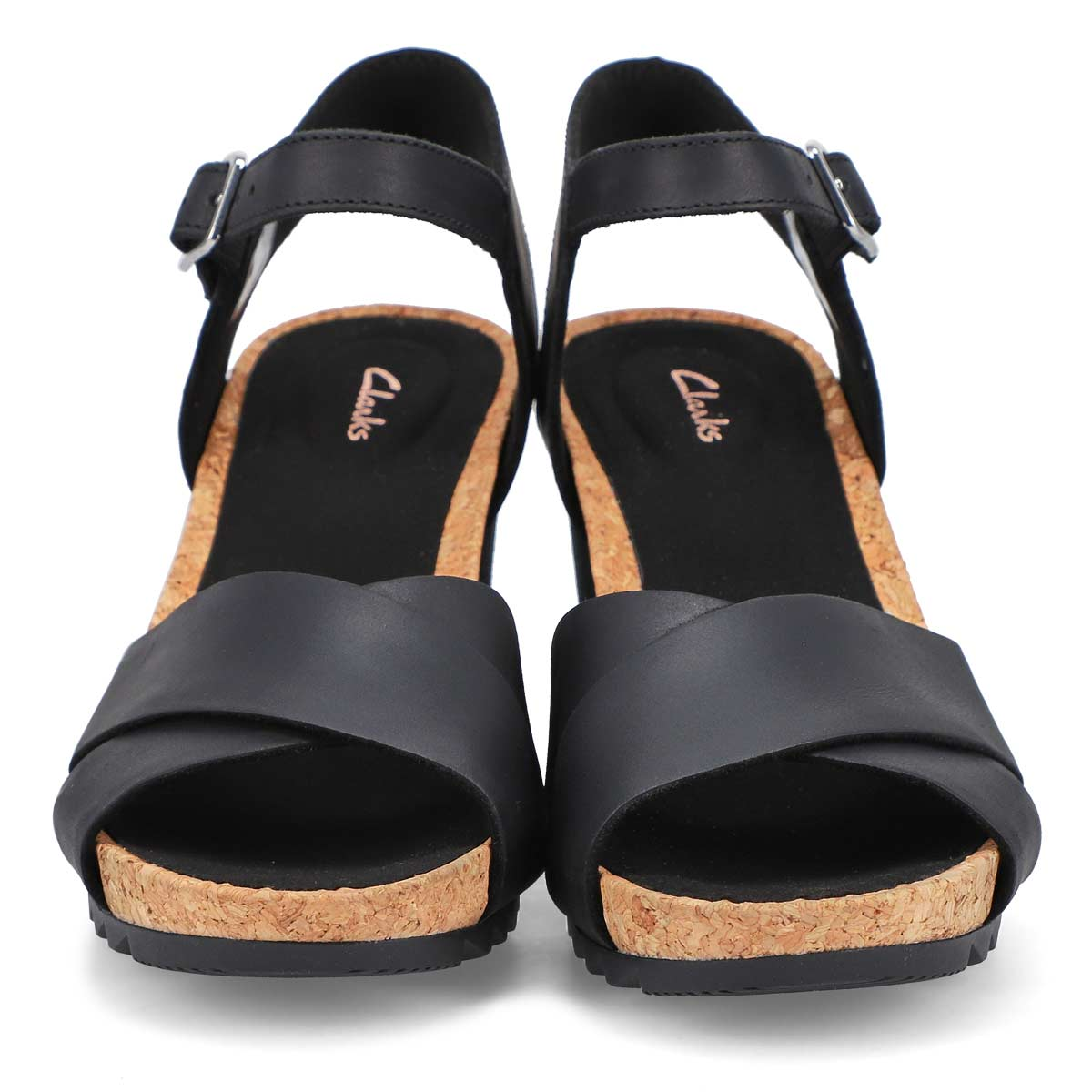 Women's Flex Sun Wedge Sandal - Black