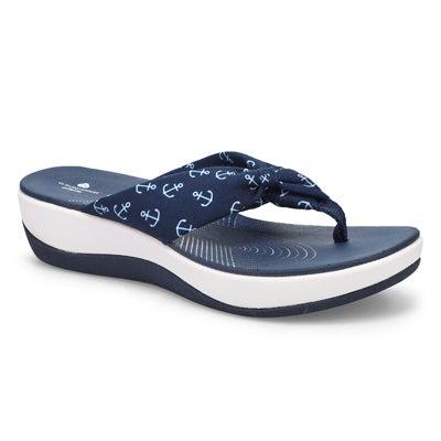 Women's Arla Glison Print wedge sandal - anchor