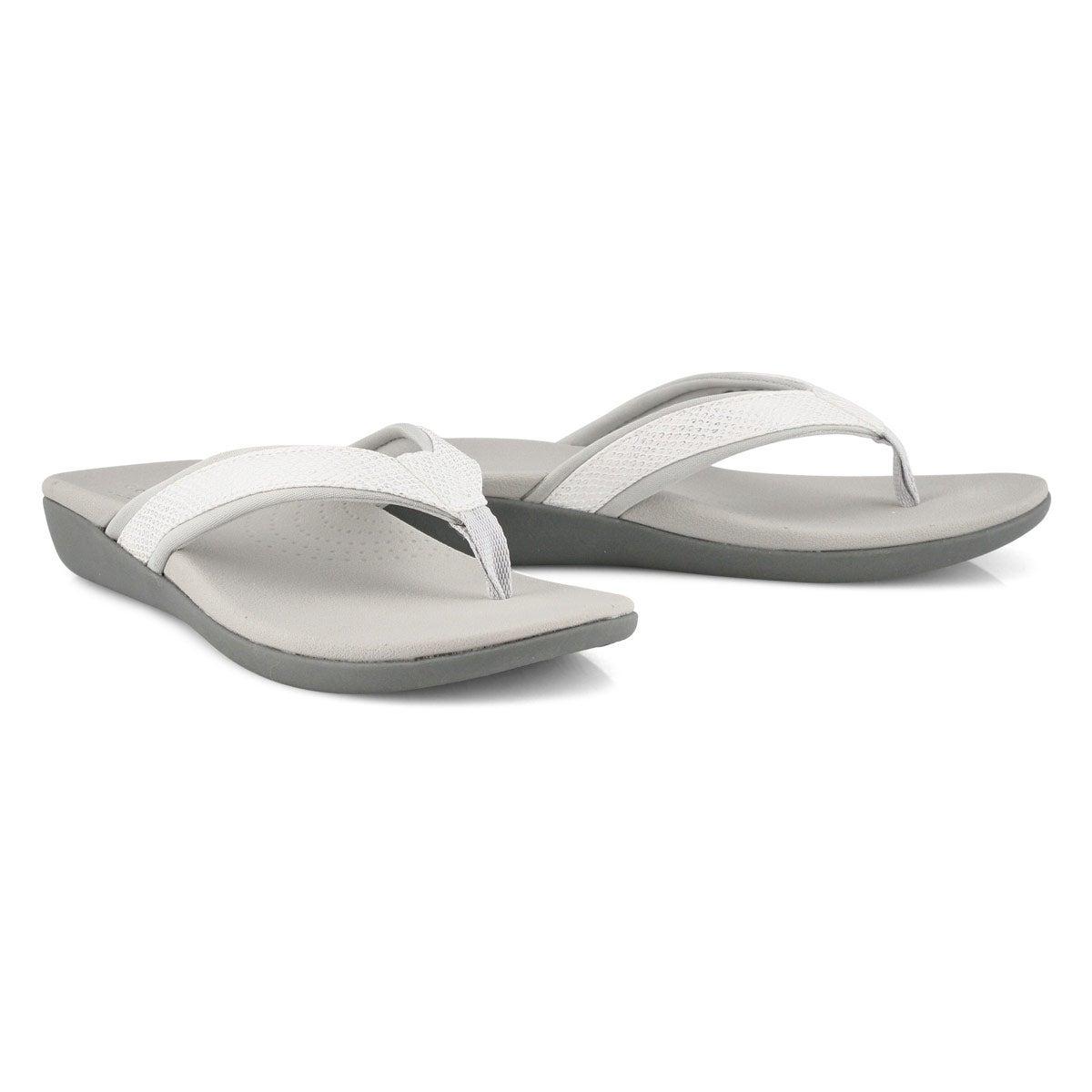 Women's Brio Sol Casual Sandal - White Snake