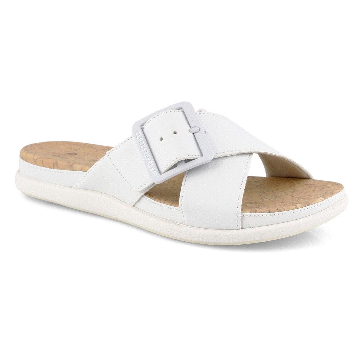 Sandale, Step June Shell, blanc, femmes