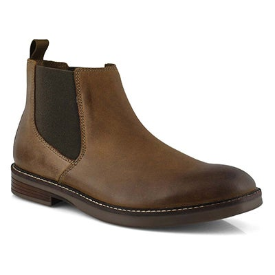 Mns Paulson Up beeswax chelsea boot