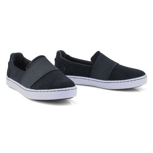 Lds Pawley Wes black slip on loafer