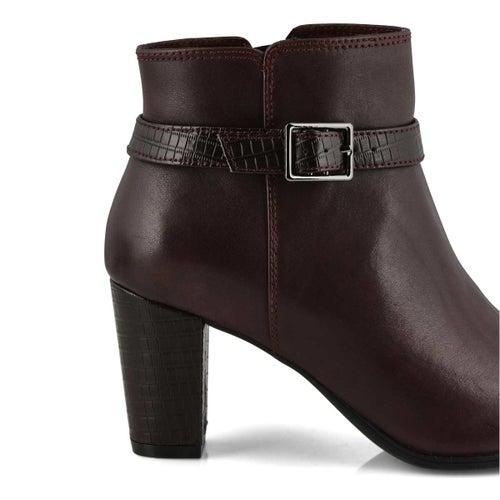 Lds Alayna Juno burgundy dress boot