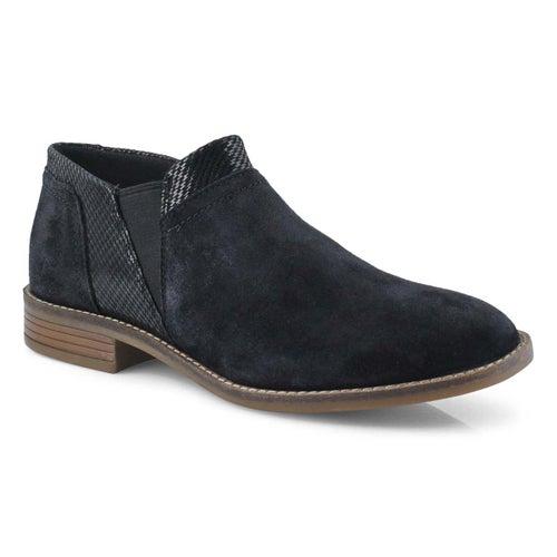 Lds Camzin Mix black slip on shoe