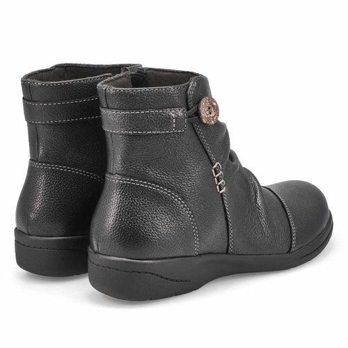 Lds Cheyn Zoe black ankle boot