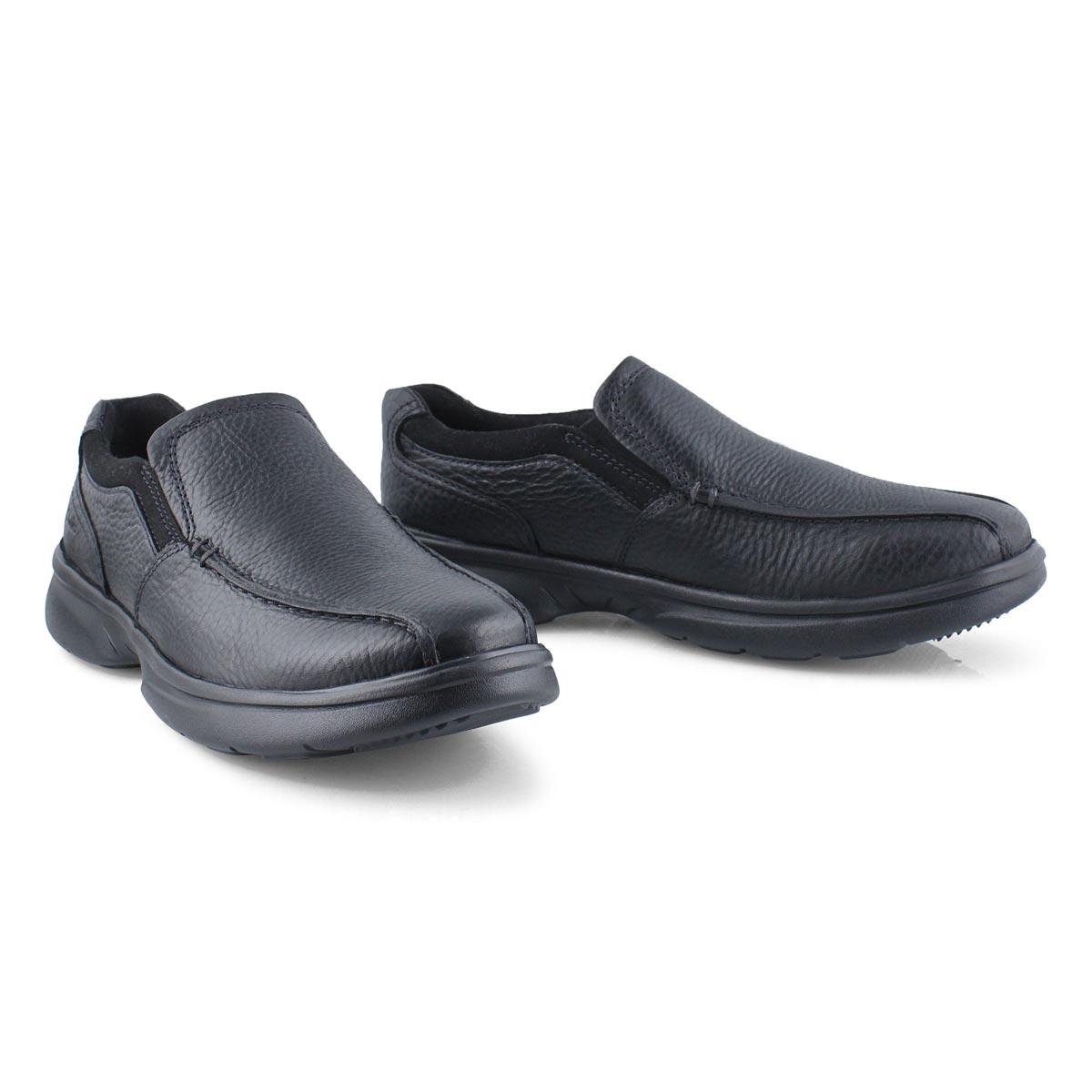 Mns Bradley Step black casual slip on