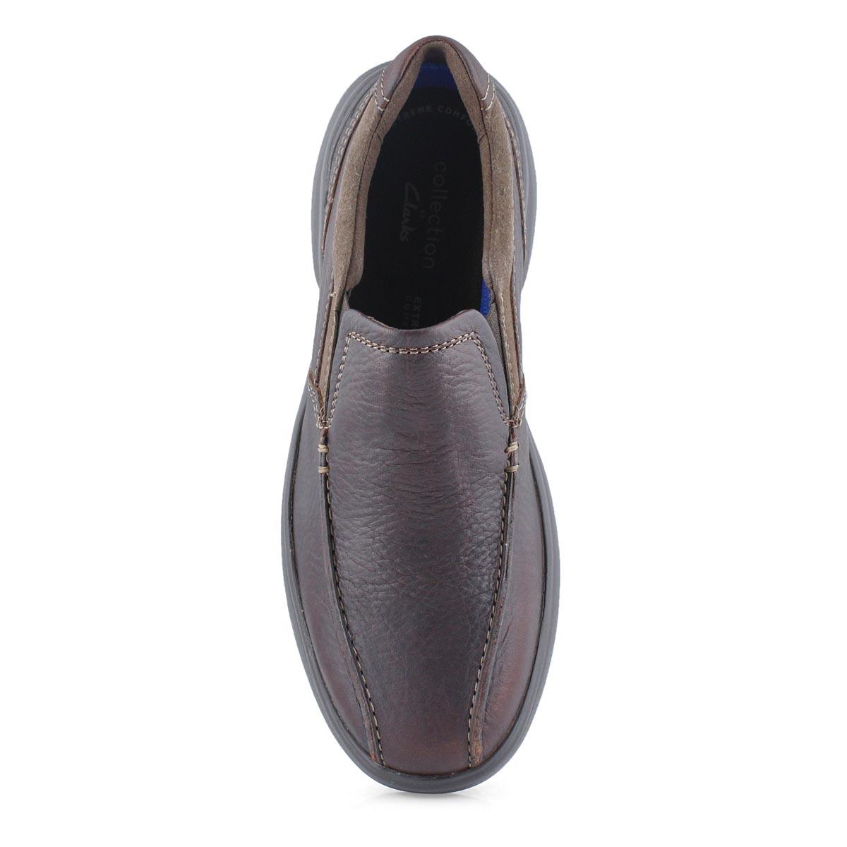 Mns Bradley Step brown casual slip on