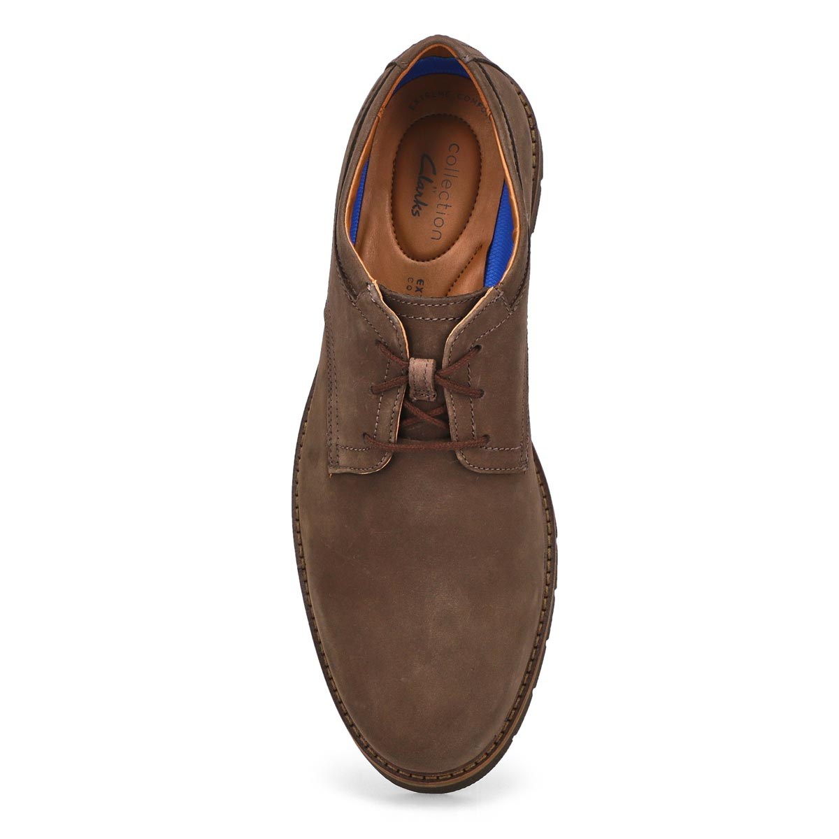 Men's Bayhill Plain Dress Oxford - Dark Brown