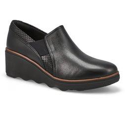 Lds Mazy Squam black wedge dress shoe