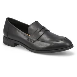 Lds Trish Rose black dress loafer