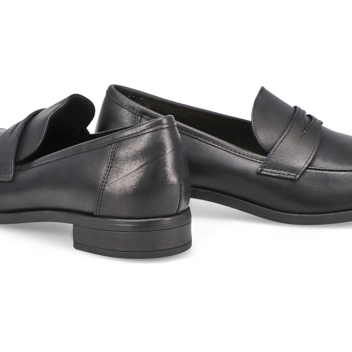 Women's TRISH ROSE black dress loafers