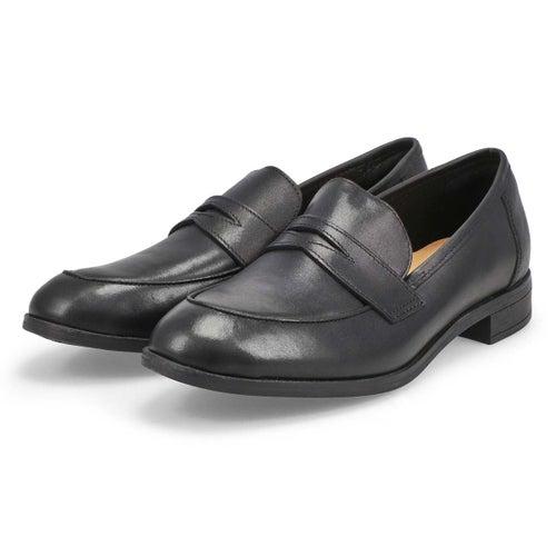 Lds Trish Rose black dress loafer