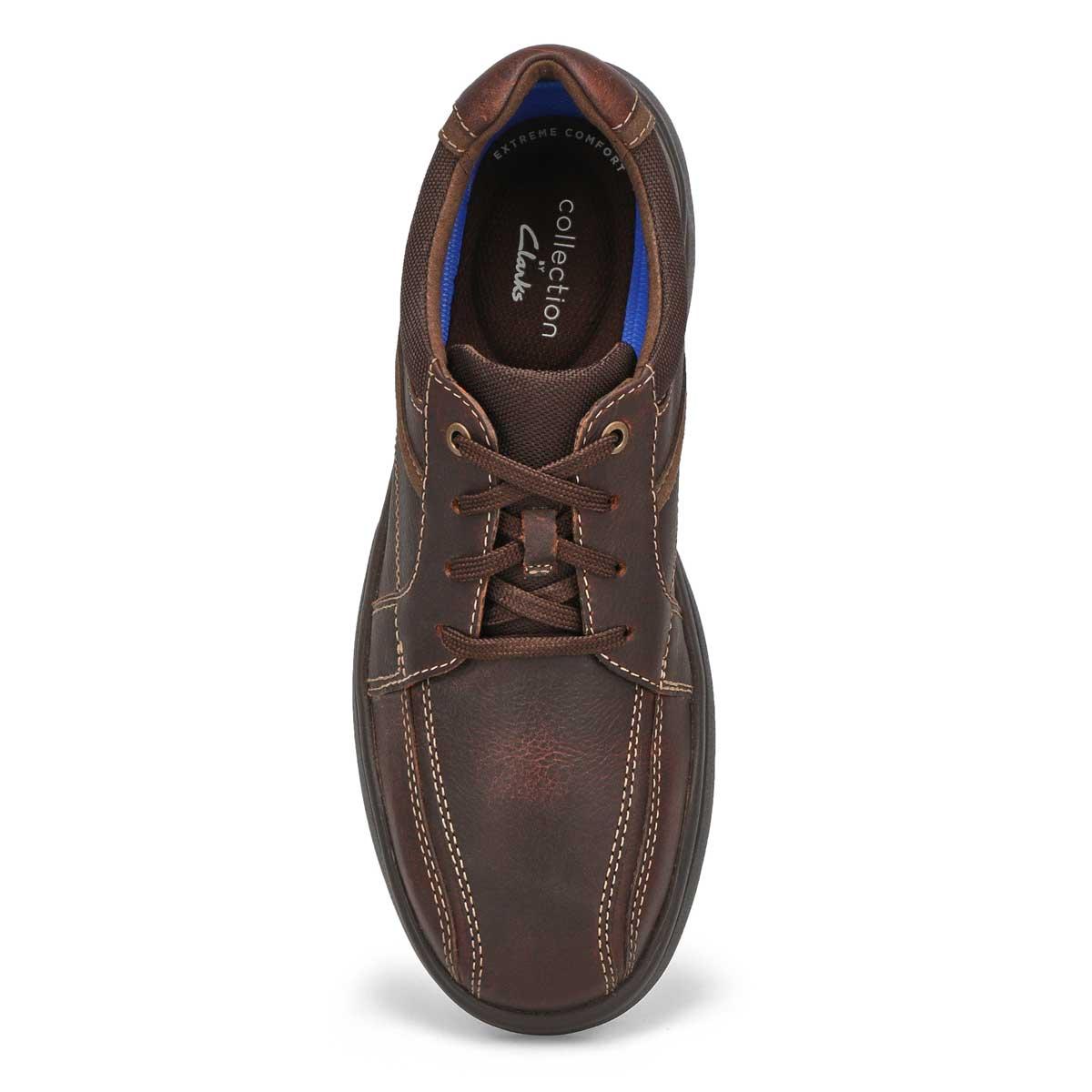 Mns Bradley Walk brown lace up loafer