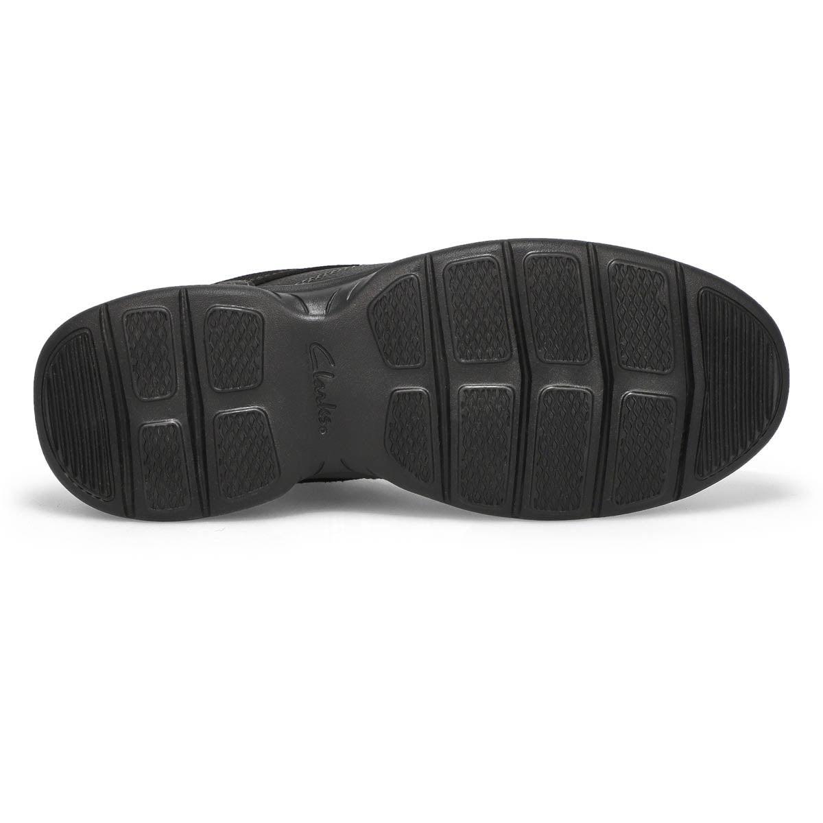 Mns Bradley Walk black lace up loafer