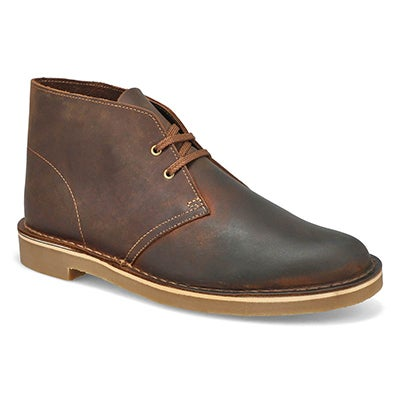 Mns Bushacre 3 Beeswax Desert Boot-Wide