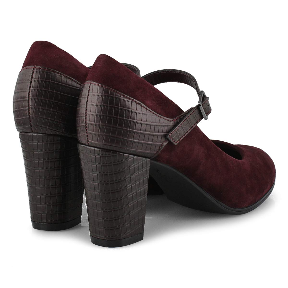 Women's Alayna Shine Dress Shoe - Burgandy