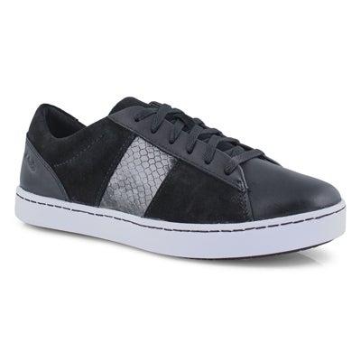 Lds Pawley Rilee black lace up shoe