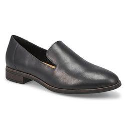 Lds Trish Style black dress loafer