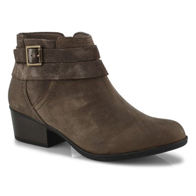 Lds Adreena Show drk taupe ankle boot