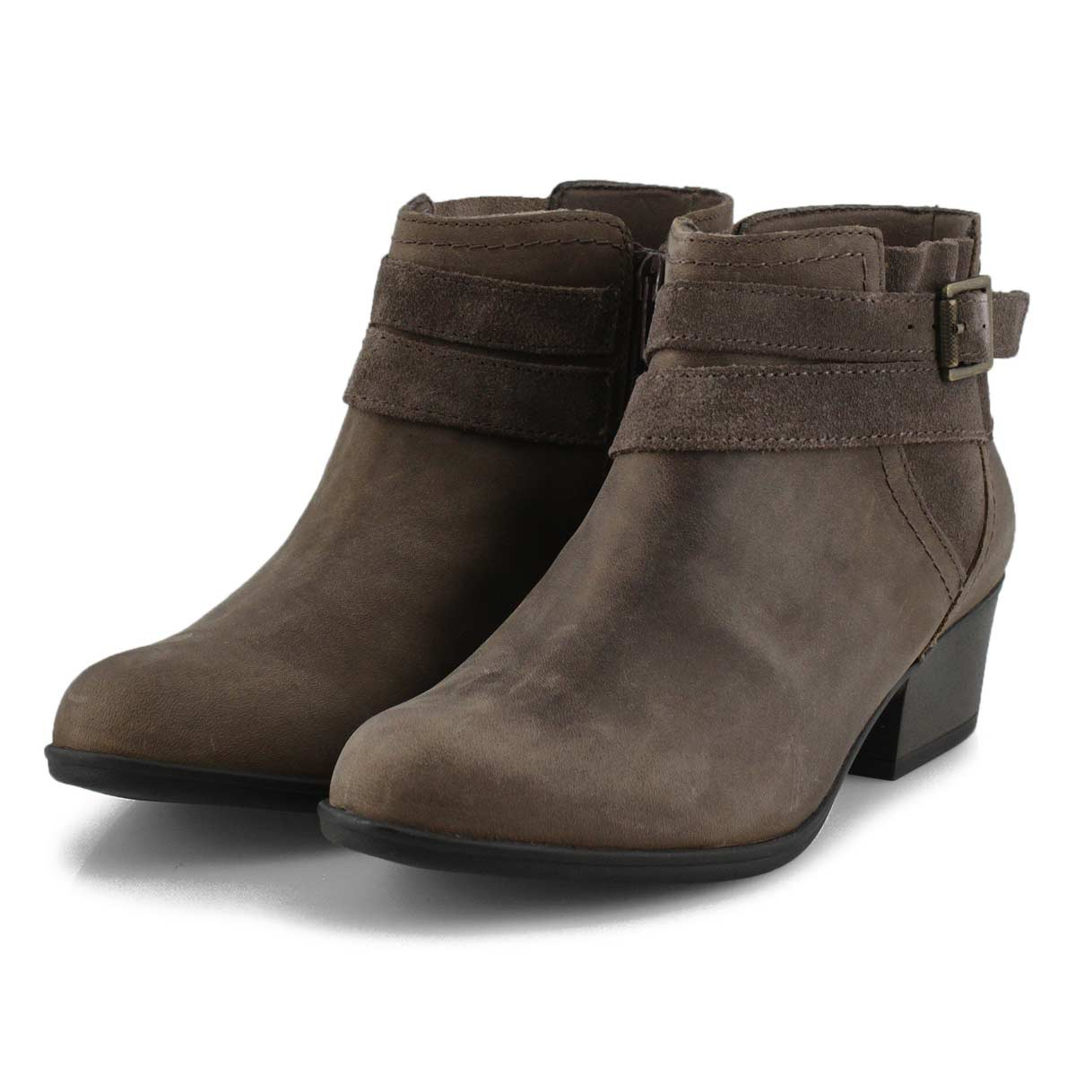 Women's Adreena Show Ankle Boot - Dark Taupe