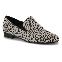 Lds Pure Viola black/white dress flats