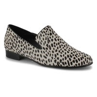 Women's Pure Viola Dress Flat - Black/White