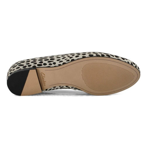 Lds Grace Piper dalmation casual flat