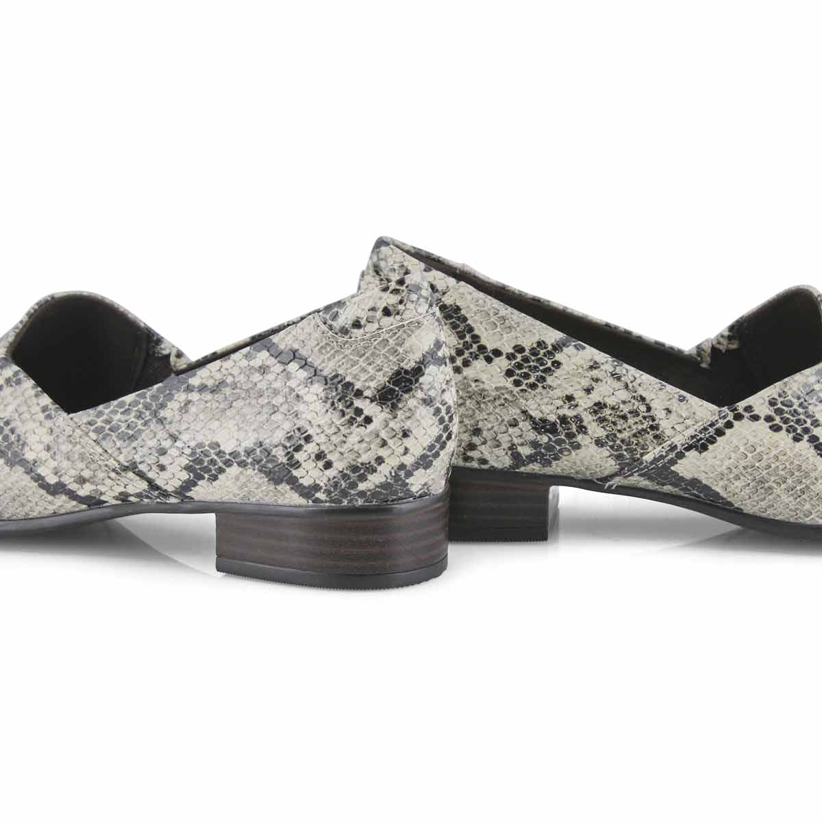 Women's Juliet Palm Slip On Dress Heel - Taupe