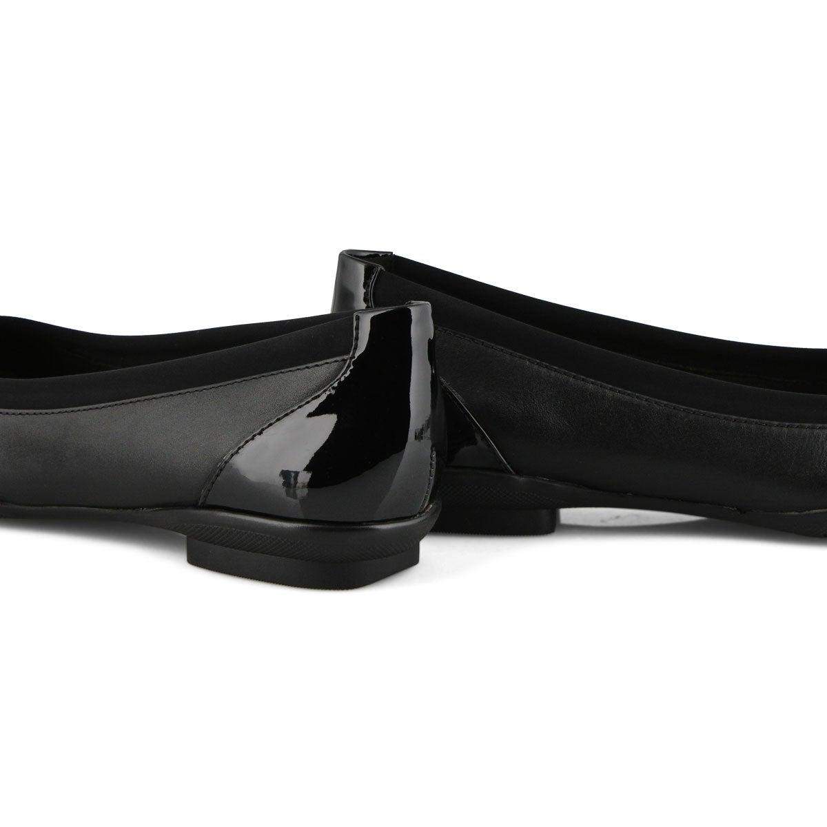 Women's Sara Dahlia Flat - Black