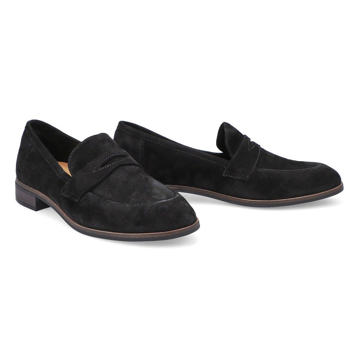 Women's Trish Rose Casual Loafer - Black
