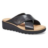 Women's Jillian Gem Slide Sandal - Black