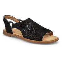 Women's Reyna Swirl Casual Sandal - Black