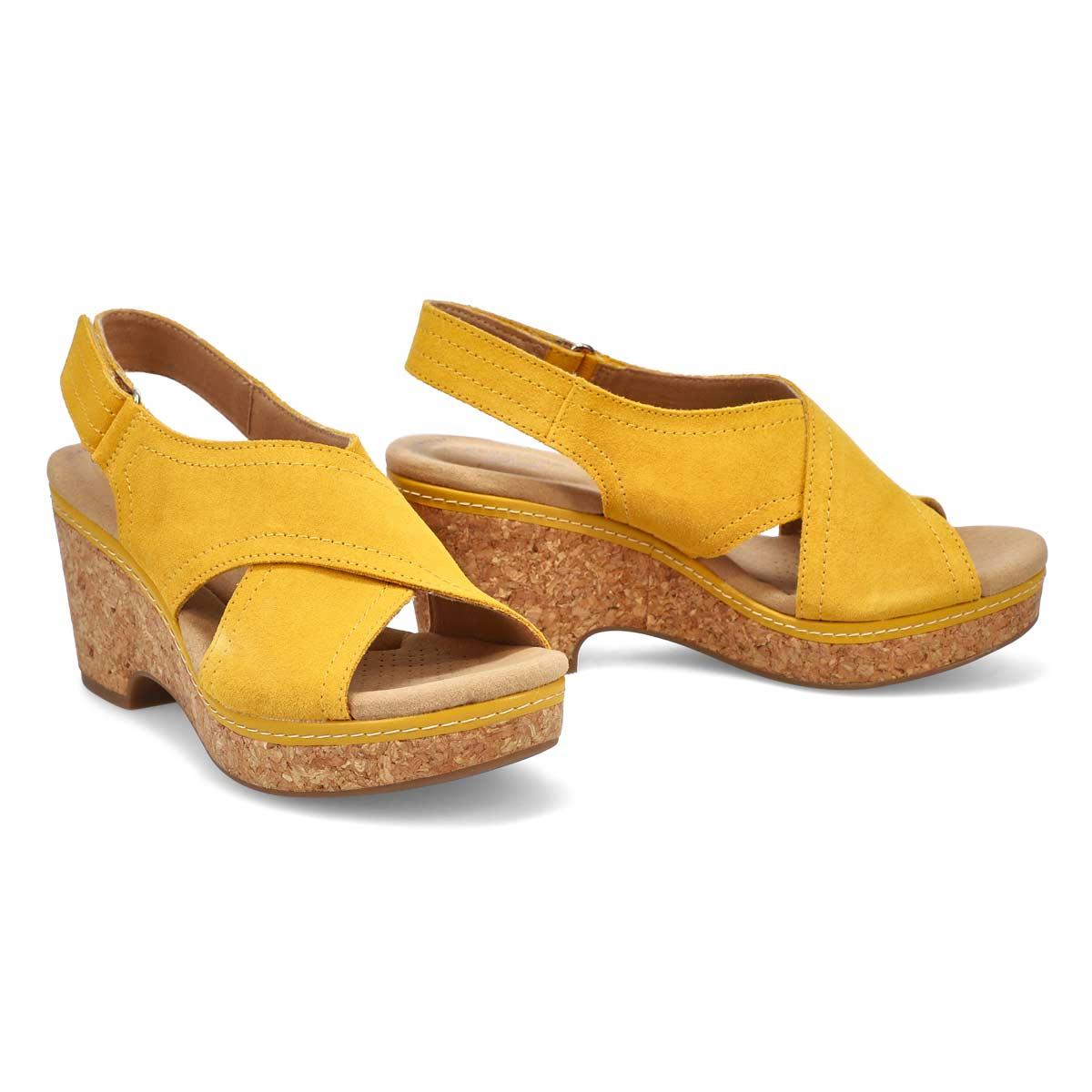 Women's Giselle Cove Sandal - Golden Yellow