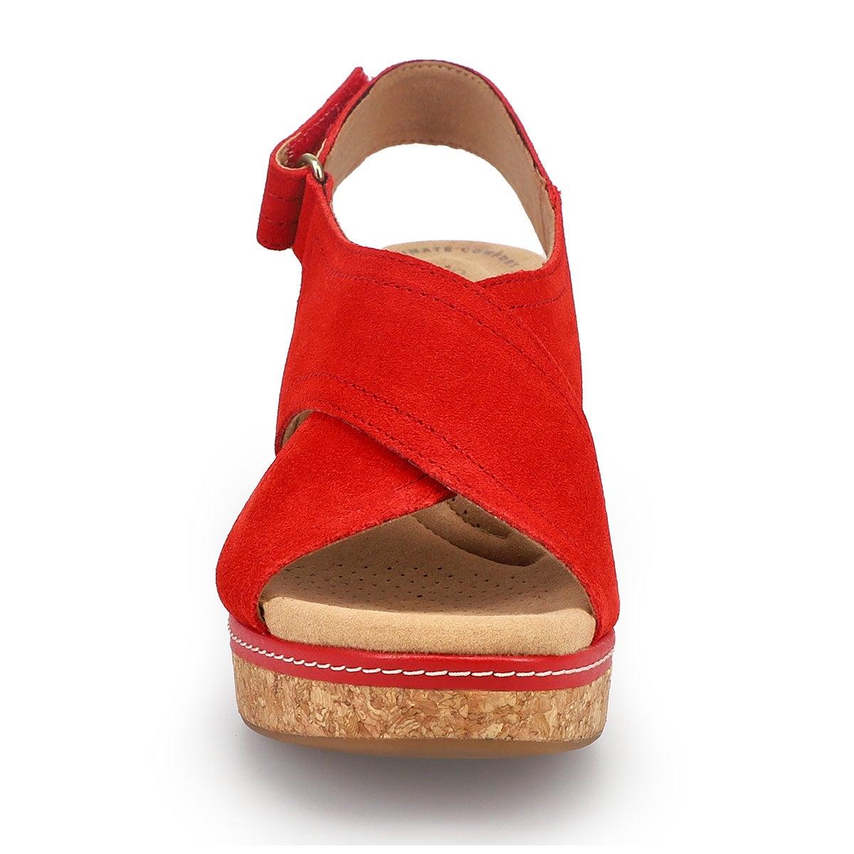 Women's Giselle Cove Wedge Sandal - Red