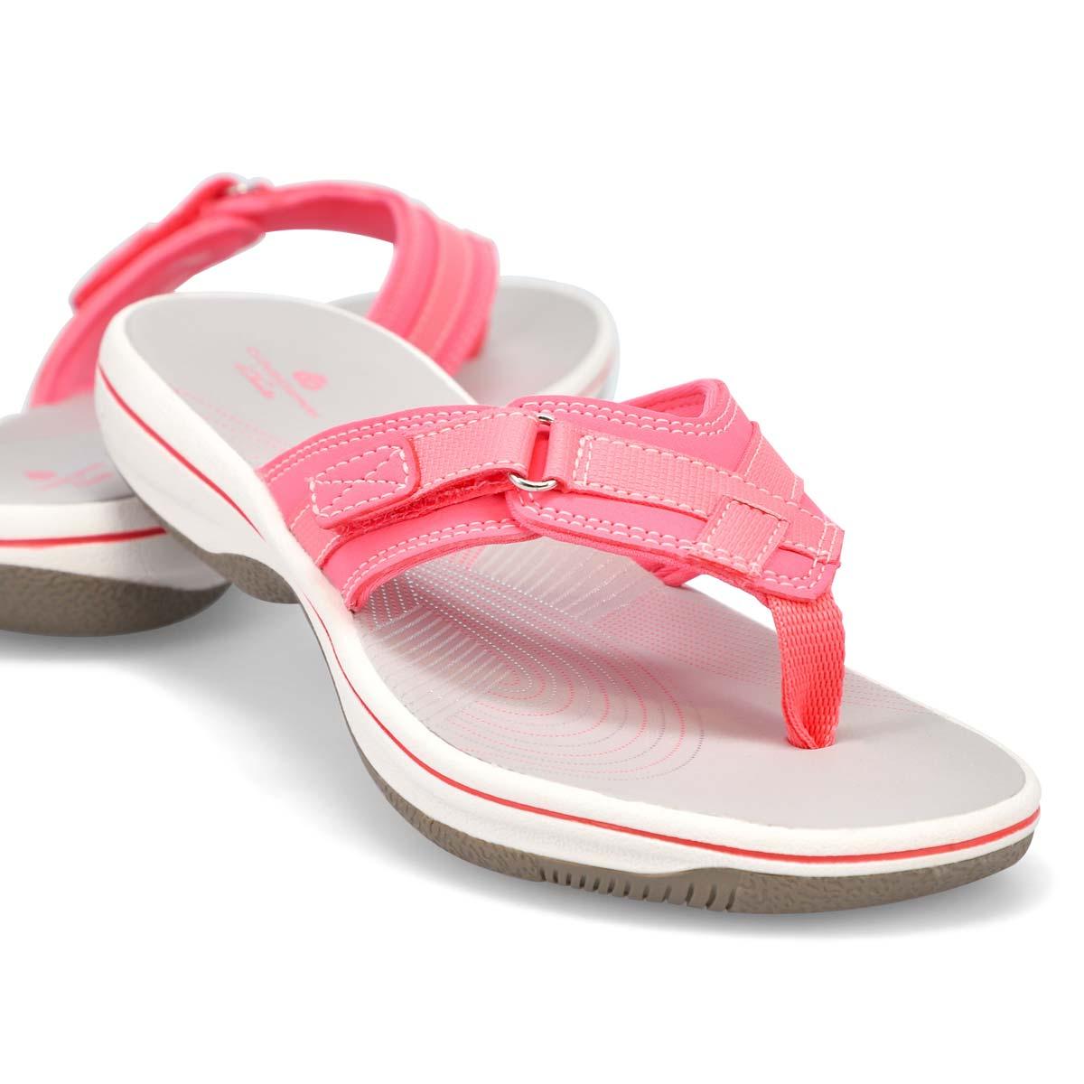 Sandale tong Breeze Sea, rose femmes